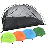 2 Person Backpacking Tent with Footprint - Lightweight Zion Two Man 3...