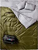 Sleepingo Double Sleeping Bag For Backpacking, Camping, Or Hiking,...