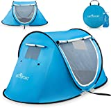 Pop Up Tent - Automatic Instant Tent - Portable Cabana Beach Tent -...