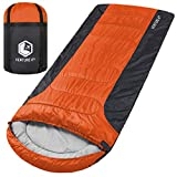 3-Season XL Sleeping Bag, Extra Large – Lightweight, Comfortable,...